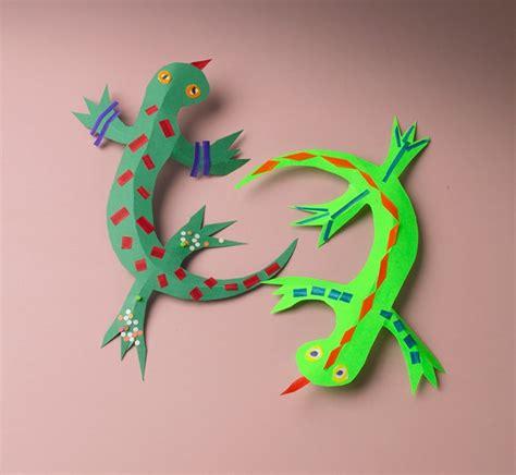 rainforest craft ideas for leaping lizards craft crayola