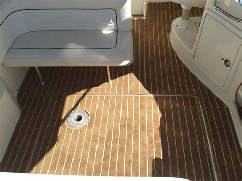 White Raider Deck by White Teak Deck Carpet Prestige Marine Trimmers Boat