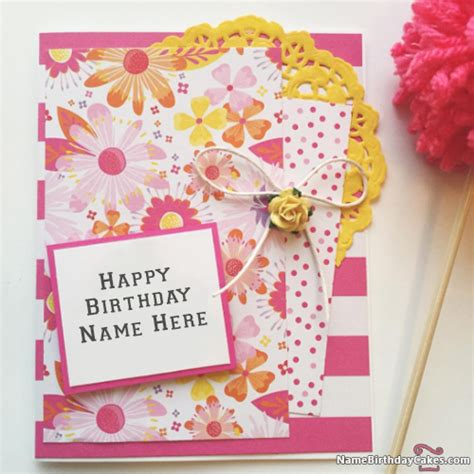 make a birthday card with name awesome happy birthday cards with name hbd wishes