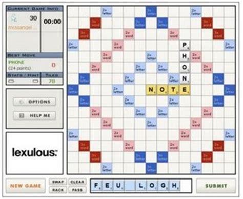 scrabble lexulous multiplayer distance relationships 100
