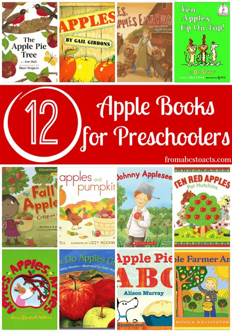 apple picture books 12 apple books for preschoolers from abcs to acts