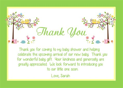 make a thank you card for your tips to create baby shower thank you notes invitations