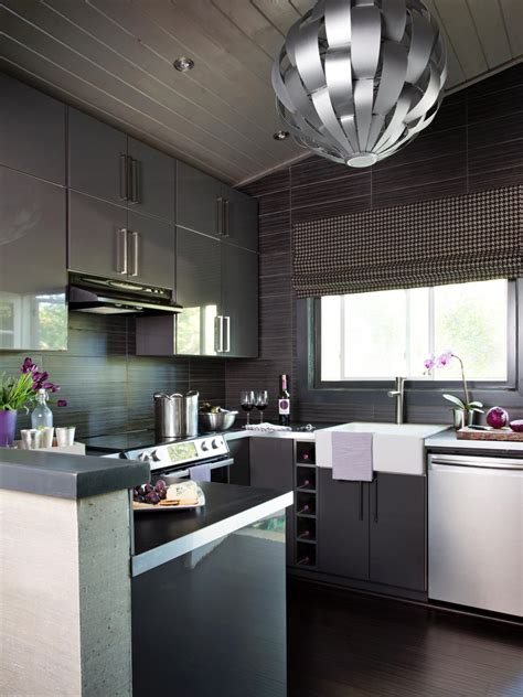 new kitchen designs for a small kitchen small modern kitchen design ideas hgtv pictures tips hgtv