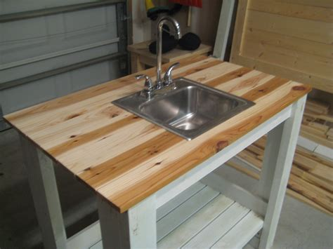 diy kitchen sink white my simple outdoor sink diy projects