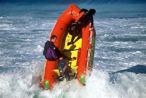 sailboat rubber st surf rescue boat st clair dunedin