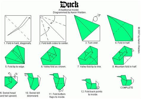 origami duck origami duck www pixshark images
