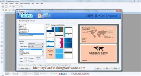identity card software free identification card software screenshot x 64 bit