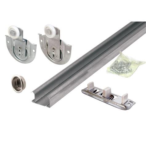 cabinet door kit prime line 174 72in sliding door hardware kit 163591