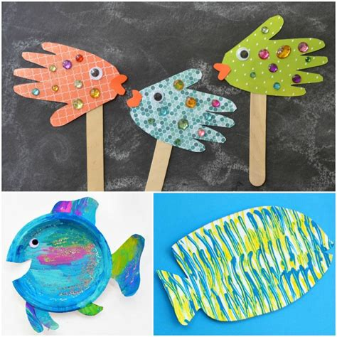 fish craft for fish crafts for fantastic learning