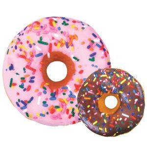 amazon com iscream treats donut microbead pillow