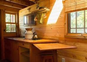 tiny house dining table the back to basics kozy kabin tiny house plans