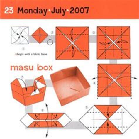 origami masu box 1000 images about masu box on origami boxes