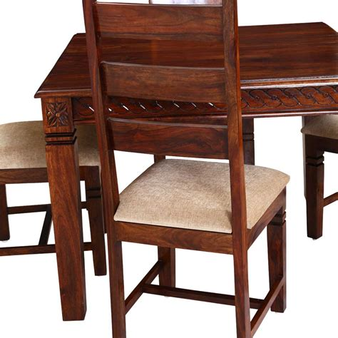 square dining chairs handcrafted solid wood 5pc square dining table and chair set