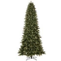 ge artificial tree shop ge 9 ft 3467 count pre lit aspen fir slim artificial