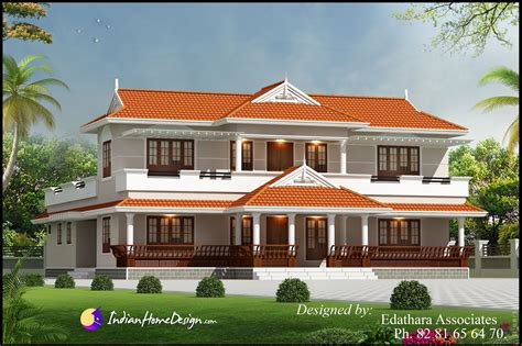 kerala home design kerala style 2288 sqft villa design traditional