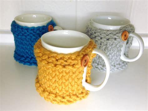 How To Loom Knit A Mug Coaster Cozy Diy Tutorial