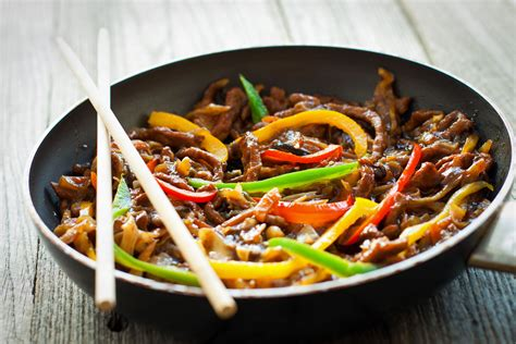 Chinese Beef And Peppers In Black Bean Sauce Recipe