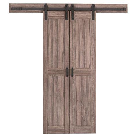 lowes barn door lowes barn door shop reliabilt solid soft pine barn