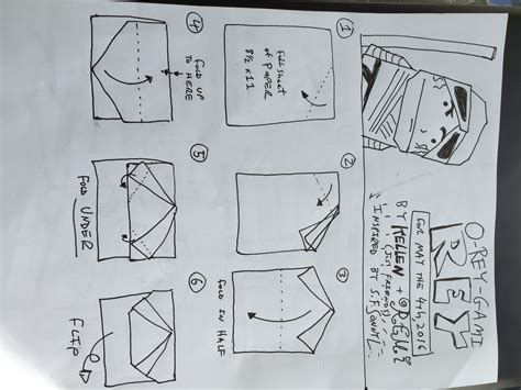 origami wars characters how to fold origami yoda