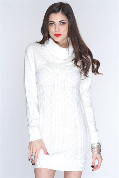 white cable knit sweater dress white cable knit cowl neck sweater dress knit crochet