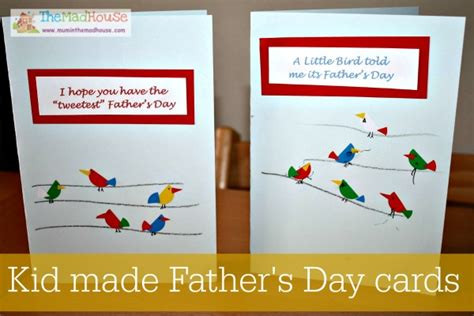fathers day cards can make fathers day ideas in the madhouse