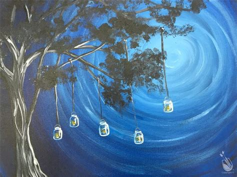 paint with a twist clermont jars in the moonlight monday december 26 2016