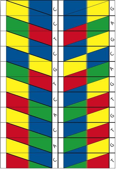 Dna Origami Template By Alex Bateman Alexbateman1