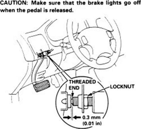 repair anti lock braking 1992 honda civic parking system repair guides brake operating system brake light switch autozone com