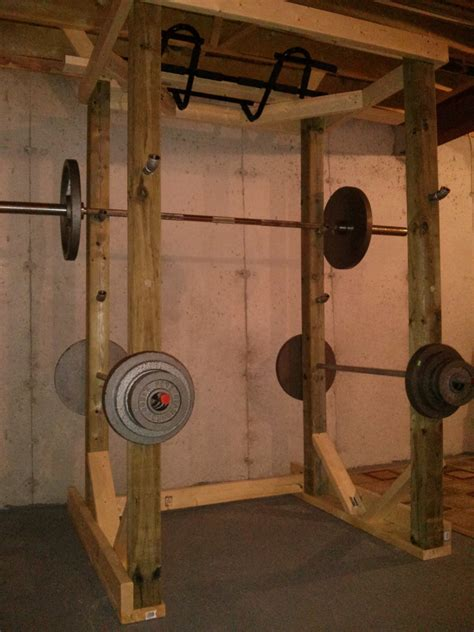 randle taylor home built power rack