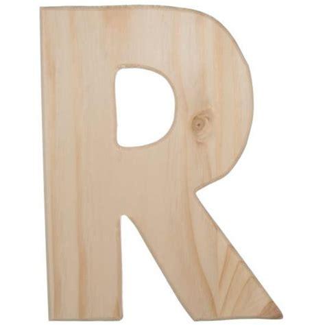 12 Quot Wood Letter R U0993 R Craftoutlet