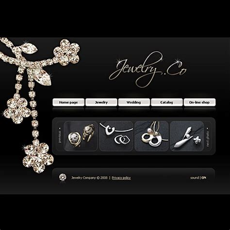 jewelry websites fabulous collection of jewelery website templates entheos