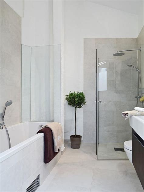 Designs For Small Apartments less is more modern bathroom decor