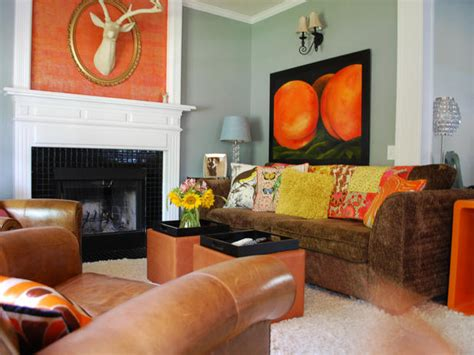 orange paint colors for living room warm living room colors home decorating ideas