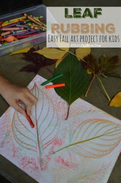 leaf craft projects easy fall projects for