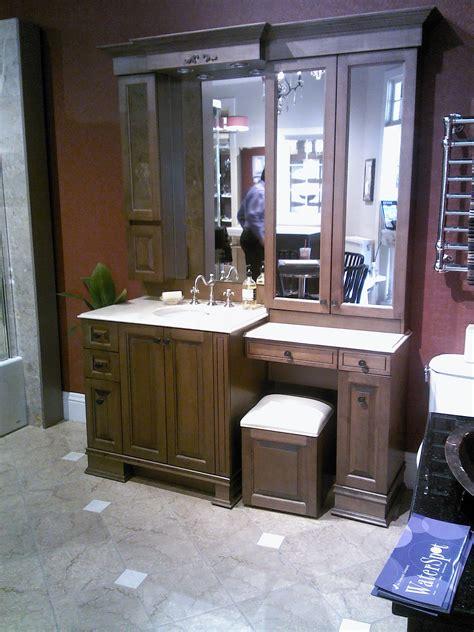 bathroom cabinets with makeup vanity bathroom cabinets vanities