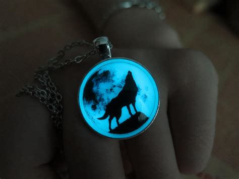 glow in the paint philippines national bookstore free shipping cyan moon wolf moon glow necklace glow in