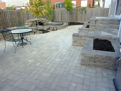 patio landscaping designs backyard patio and wall backyard water feature