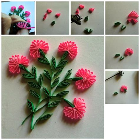 how to make flowers for cards 1000 images about quilling plants and flowers nature