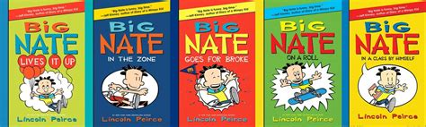 big nate book pictures big nate lives it up an with lincoln peirce