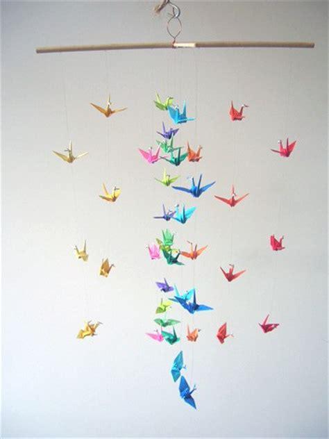 origami bird mobile origami on origami cranes origami and