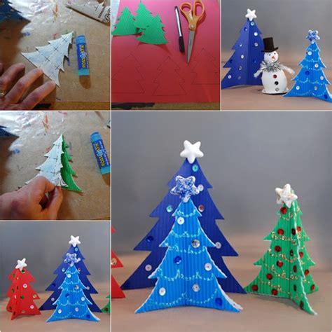 cardstock paper craft ideas wonderful diy easy cardstock tree