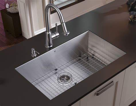 stainless steel kitchen sink reviews stainless steel kitchen sinks top mount you will get