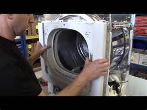 how to replace a washing machine door seal on a bosch