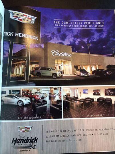 Hendrick Cadillac by Rick Hendrick Cadillac Norfolk Car Dealers 6222