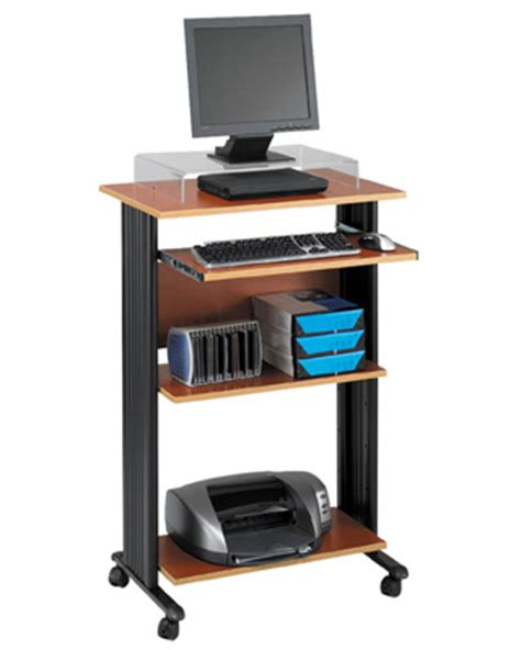 office furniture stand up desk safco muv stand up desk engineersupply