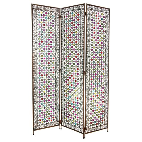 beaded room dividers 5 1 2 ft fleur de lis beaded monarchy divider