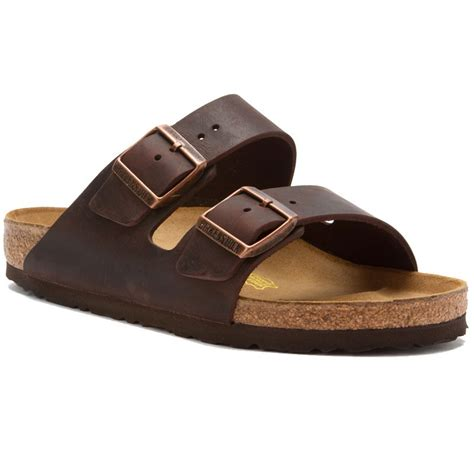 birkenstock habana leather birkenstock arizona habana leather 5253 unisex