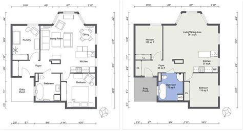 roomsketcher show measurements create professional interior design drawings