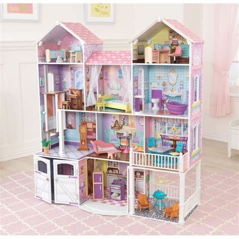 kid craft dollhouse kidkraft country estate dollhouse 65242
