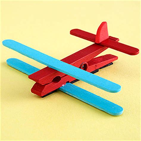 airplane craft for magnetic airplane clip family crafts